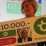 Transavia reikt Peter J. Legro Award uit